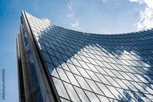 Fotografie, Obraz  Mrakodrap obchodní kancelář, firemní budova v London City
