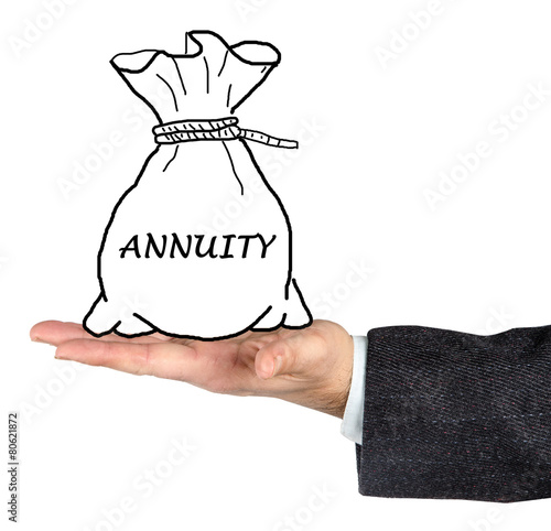 Bag with annuity Canvas Print