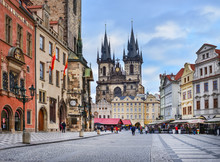 Prague, Czech Republic, Centra...