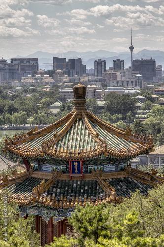 In de dag Beijing Pekín - Beijing