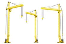 Yellow Hoisting Cranes