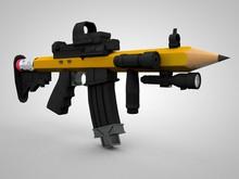 Pencil Gun