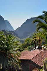 Fototapeta na wymiar village de montagne