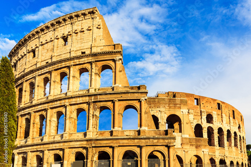 Photo  Colosseum. Rome, Italy