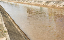 Brown Cement River