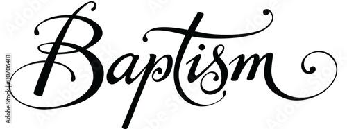 Carta da parati Baptism