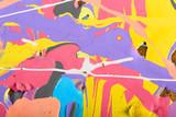 Fototapeta Do akwarium - abstract painting background illustration