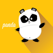 Panda Bear Vector Illustration...