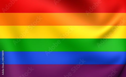 Photo Flag of LGBT