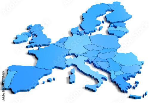 Fototapeta premium Europa