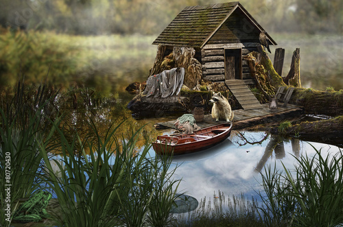 fairy house (fisherman's house)