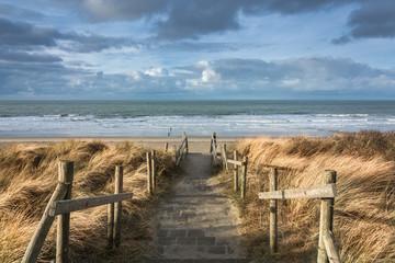 Fototapeta samoprzylepna View of the North Sea