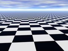 Abstract Infinite Chess Floor ...