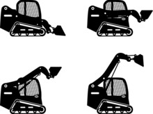 Skid Steer Loaders. Heavy Cons...