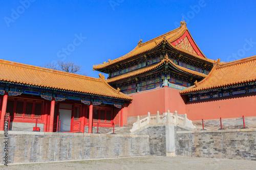 Foto op Aluminium Beijing The forbidden city, world historic heritage, Beijing China