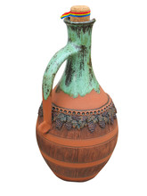 Colorful Designed Clay Vase Is...