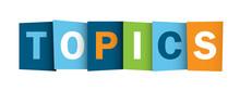 TOPICS Icon (subject Informati...