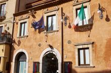 Street Scene Taormina, Sicily,...