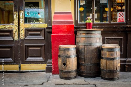 Fotografie, Obraz  Starý styl anglický pub