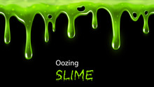 Oozing Slime Seamlessly Repeat...