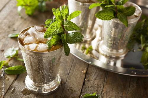 Photo Refreshing Cold Mint Julep