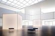 canvas print picture - Exhibition Area (procject)