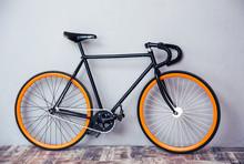 Closeup Image Of A Bicycle
