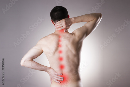 Fotografía  Pain in a body of the man