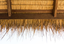 The Under Thatched  Roof In Th...