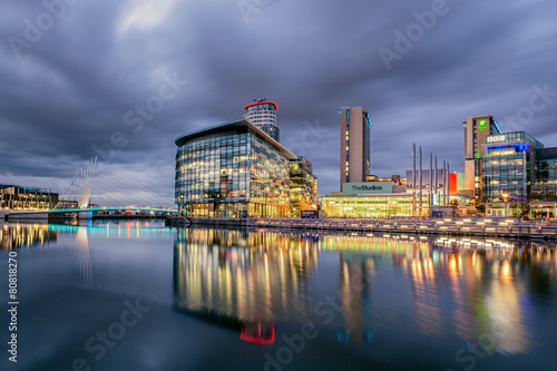 Media City Manchester Canvas Print