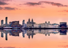 Panoramic Skyline Liverpool UK