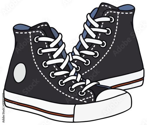 Fotografía  Black sneakers