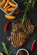 Steak Mit Kartoffelecken