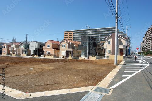 Photo 宅地造成と戸建て住宅分譲地 イメージ