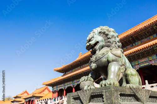 Foto op Aluminium Beijing The forbidden city, world historic heritage, Beijing China