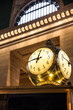 historic clock at Grand Central Terminal NYC