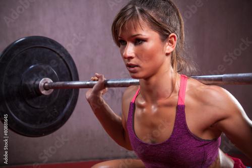 Foto op Plexiglas Fitness Female Athlete