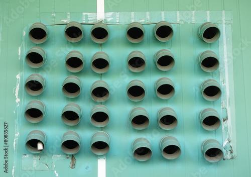 Photo ventilation pipe