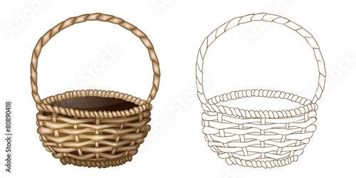 Fotografija  Wicker basket