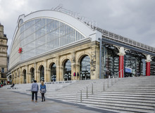 Lime Street Station, Liverpool, UK