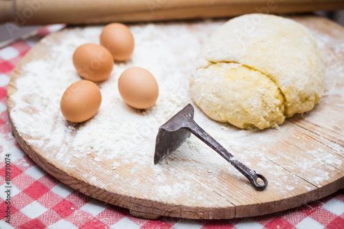 Fotografia, Obraz  Dough for pastries