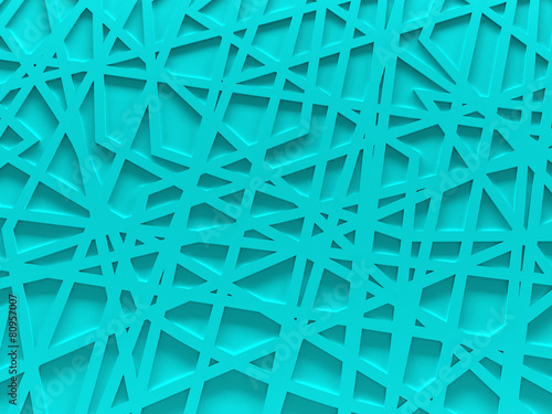 turquoise chaos mesh background rendered