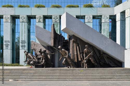 Fototapeta Pomnik Powstania Warszawskiego obraz