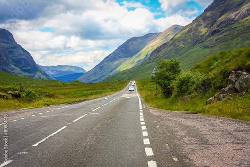 Photo  Glencoe, Scottish Higlands,Scotland, UK.