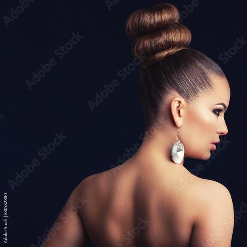 Fototapety, obrazy: glamorous woman