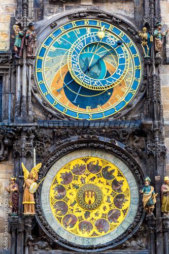 Fotobehang Praag Astronomical Clock. Prague.