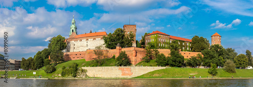 Wawel castle in Kracow #80990450