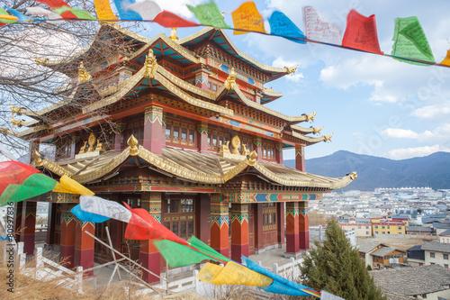 Carta da parati tibet