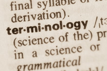 Dictionary Definition Of Word Terminology