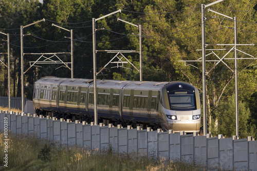 Foto op Plexiglas Zuid Afrika Gautrain, high speed train, South Africa.